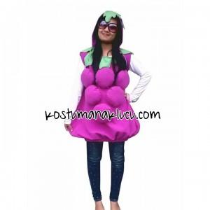 Kostum Anak lucu  buah Anggur