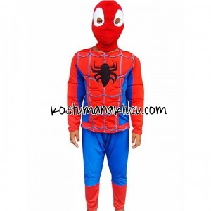 kostum anak lucu Spiderman