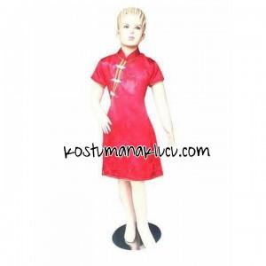 kostum anak lucu cheongsam