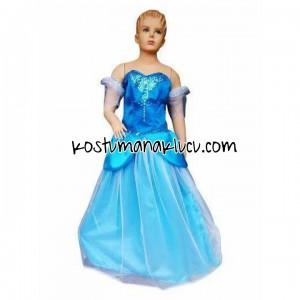 kostum anak lucu Elsa 1