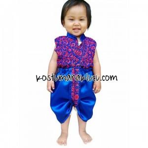 kostum anak lucu india