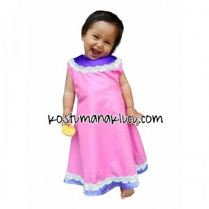 Kostum anak lucu india Dress