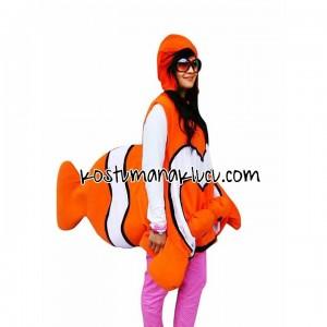 kostum anak lucu Nemo