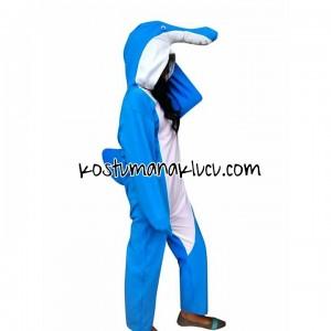 kostum anak lucu lumba- lumba