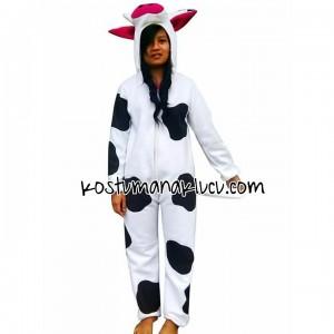 kostum anak lucu sapi