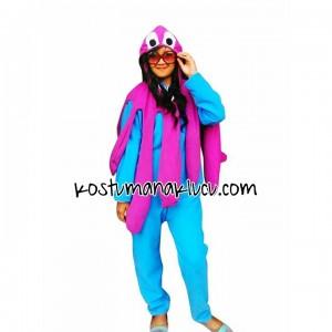 kostum anak lucu Gurita