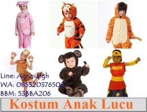 kostum anak lucu