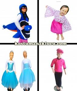 Jika Anda Memerlukan Kostum Untuk Anak Anda,Kami hadir untuk memenuhi permintaan anda akan kostum anak. Dengan berbagai kostum favorite,keren,dan lucu.kami juga menerima pesanan dengan model yang anda inginkan,kami bisa membuatkan kostum yang anda ingin. Kostum Anak terbaik dan berkualitas dengan harga yang murah tentunya sangat cocok untuk anak anda. ayo pesan sekarang juga hanya di kostumanaklucu.com BERMACAM MACAM KOSTUM ANAK Sebagai salah satu produsen kostum anak,kami memiliki beberapa kostum favorit seperti kostum binatang,bunga dan tumbuhan lainnya,kostum princess contohnya elsa frozen,snow white,cinderella,dan lain lain. kostum super hero pun ada seperti superman,supergirl,batman,batgirl,wonder woman dan dan masih banyak lagi. tak hanya itu,kostum adat dan kostum internasional juga ada! Kami Juga Menyediakan Kostum Profesi Misalnya Kostum Pilot,polisi,koki,TNI,dan lainnya. ayo segera pesan sekarang juga. Jika Anak Anda ingin merayakan pesta ulang tahun atau di saat acara halloween dan lainnya Pasti Sangat Membutuhkan Kostum,cocok sekali jika digunakan dalam acara seperti itu. Tenang Saja,Kami Bisa di percaya dan tidak perlu di ragukan lagi,Sudah Banyak konsumen yang membeli kostum dari kami lewat online. Kami menjual kostum dengan harga terjangkau dan jenis kostum yang sangat bervariasi dari ukurang kecil sampai ukuran yang besar,jadi anda tidak perlu risau tentang ukuran badan yang anak anda miliki. Bila anda ingin membeli kostum anak,anda bisa segera menghubungi kami: Line : aghniafgh Wa : 085320376500 Bbm : 53bba206