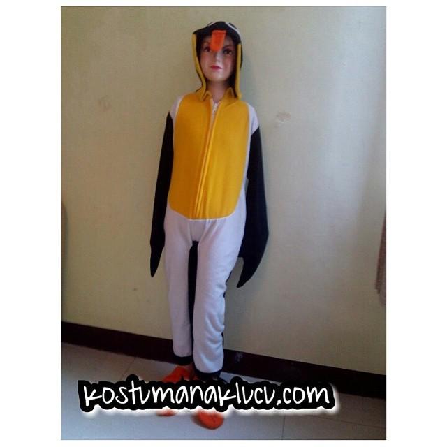 Kostum Pinguin Anak Lucu Murah Indonesia Gambar Nari Tk