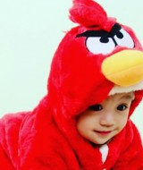 baju anak karakter angry bird