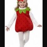 Kostum anak strawberry