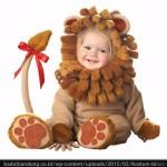 kostum anak karakter singa
