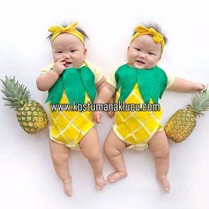 kostum buah nanas