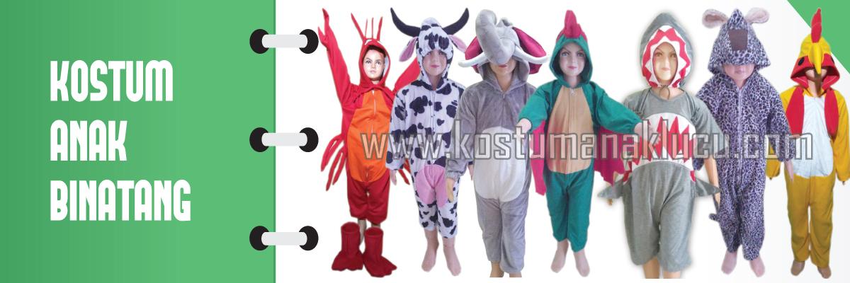Kostum Anak Binatang