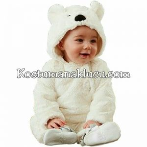 Jual Kostum Anak Lucu Beruang Putih